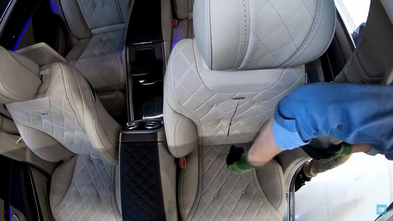 Video of the Day: What's Inside a Mercedes S-Class Seat