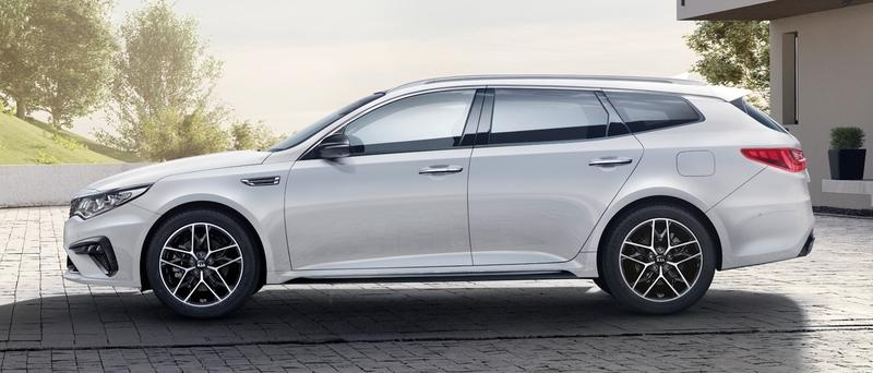 Visual Comparison: 2019 Volvo V60 Wagon vs 2019 Kia Optima Sportswagon