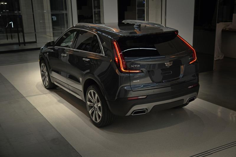 The Cadillac XT4 Sends a Warning to BMW, Mercedes, and Audi Exterior - image 775475