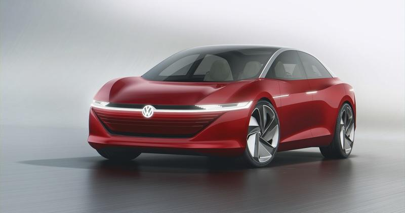 Volkwagen's I.D. Vizzion Concept Proves V.W. Can Easily Take On Mercedes' EQ Lineup