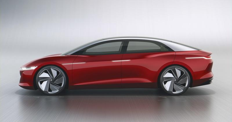 The Volkswagen I.D. VIZZION Showcases Futuristic Technology with a Modern Look