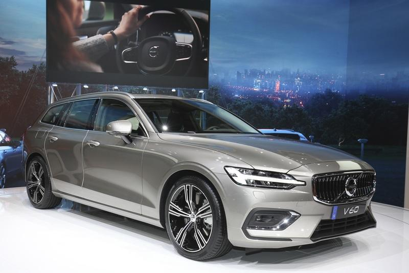 Volvo Unveiled the V60 as the BMW 3-Series Touring, Mercedes C-Class Wagon, and Audi A4 Avant Trembled with Fear