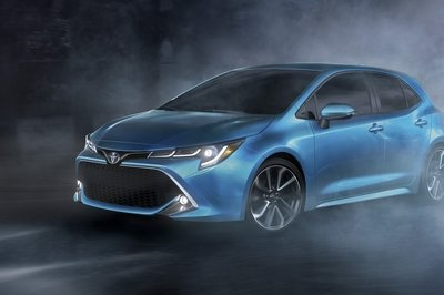 Watch Out Ford Focus and Volkswagen Golf Fans - Toyota has a New Corolla Hatchback Heading to the New York Auto Show - image 775080