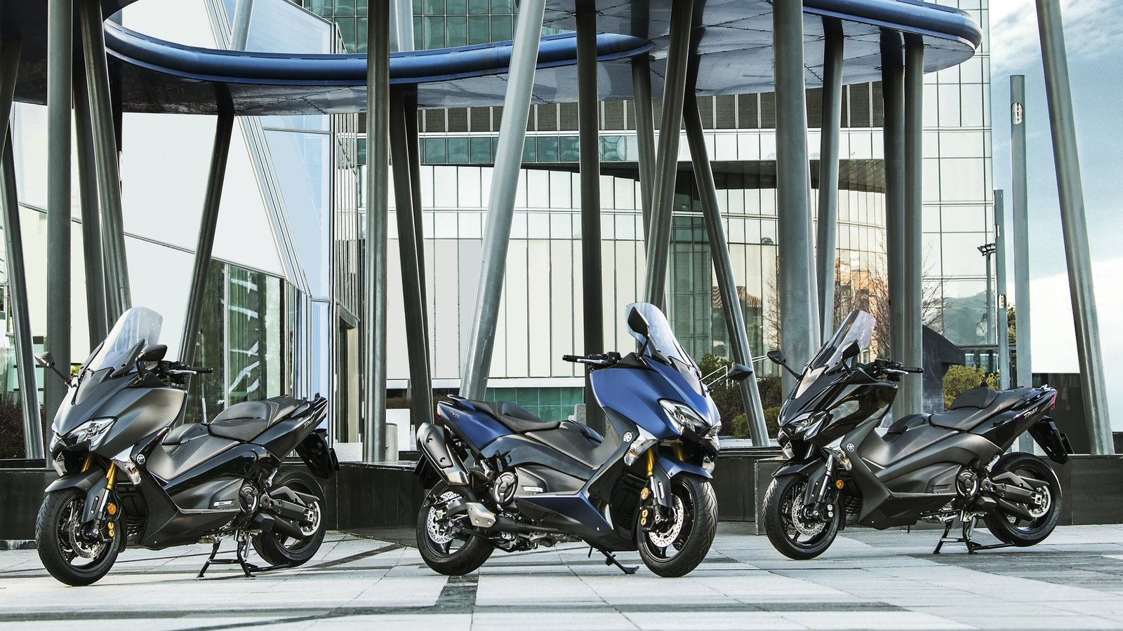 Yamaha Wins The Red Dot Design Award For Its Tmax Scooters