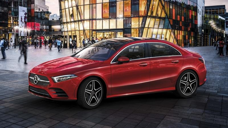 2019 Mercedes-Benz A-Class L Sedan