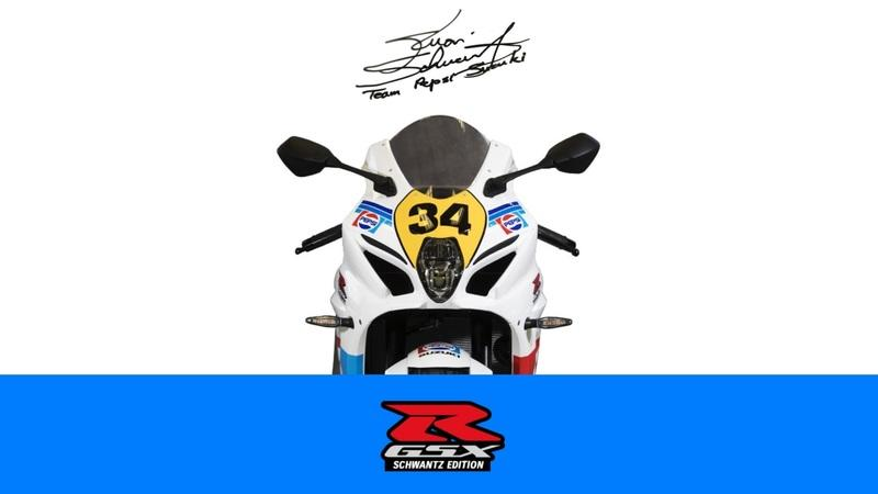 This Pepsi Suzuki GSX-R1000 GP Edition pays homage to the racestar of yesterday