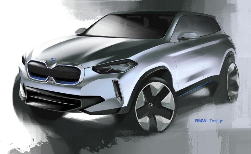 The iX3 Concept Previews BMW's EV Technology of the Future