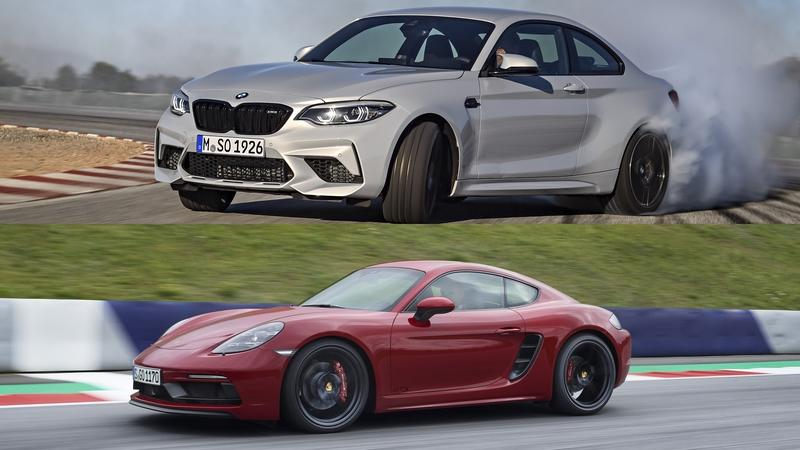 Comparison: 2018 BMW M2 Competition vs 2018 Porsche 718 Cayman GTS