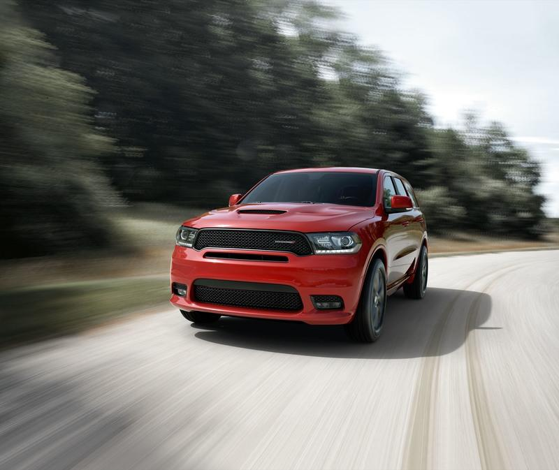 The Dodge Durango GT Snarls at the Competition Thanks to the SRT-inspired Rallye Appearance Package