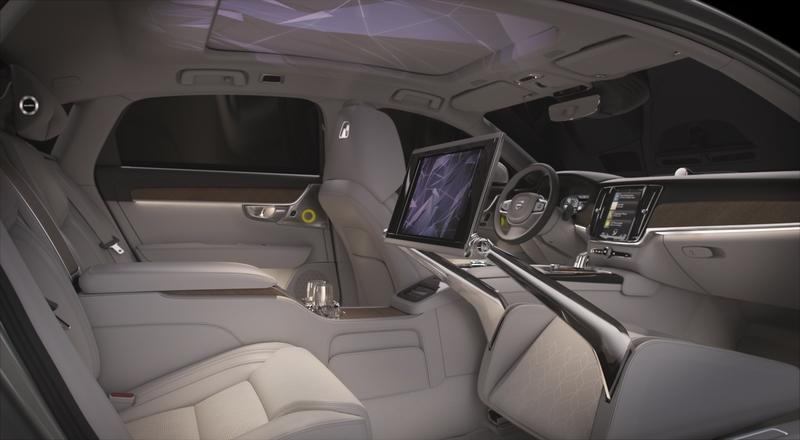 Does the Volvo S90 Ambiance Concept Hint at a Future Where Volvo Takes on Bentley and Rolls-Royce? Interior - image 778254