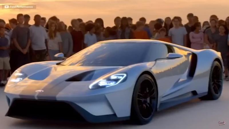 Donut Media Recounts The Epic Tale Of The Ford GT