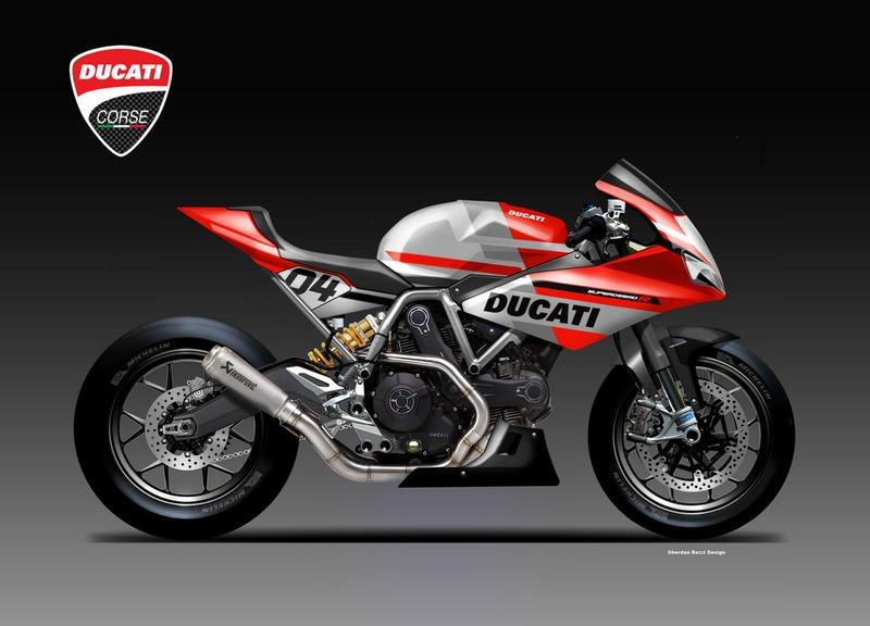 If Ducati makes a mid-weight SuperSport, this is how it will look