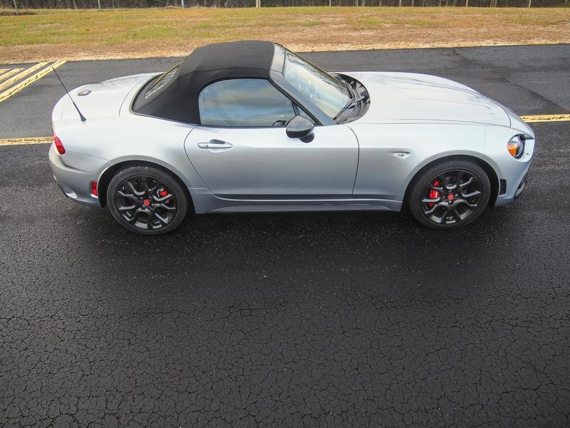 2018 Fiat 124 Spider Abarth - Driven Exterior - image 776623