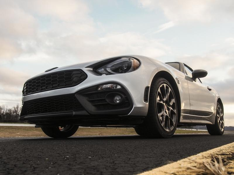 2018 Fiat 124 Spider Abarth - Driven Exterior - image 776665