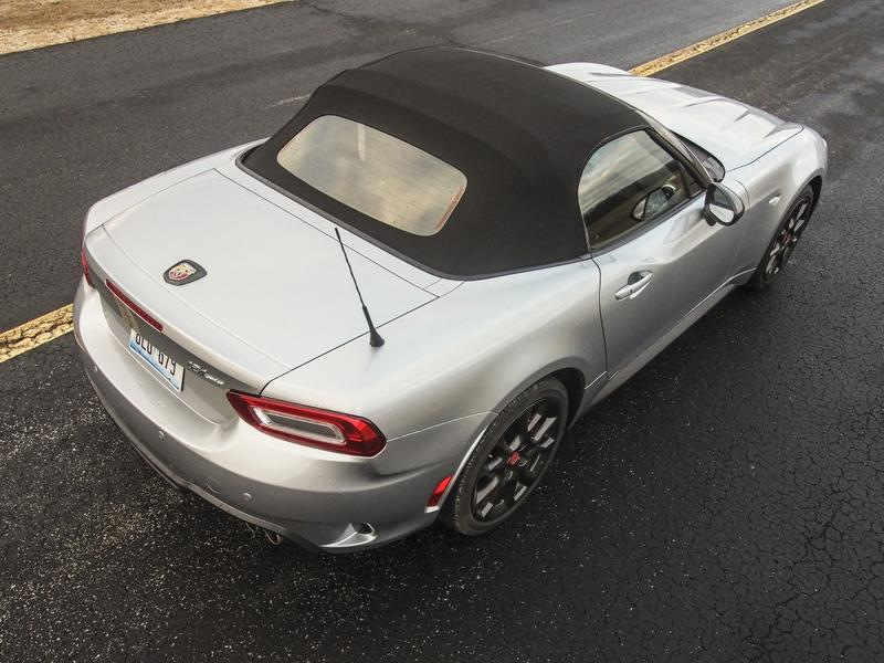 2018 Fiat 124 Spider Abarth - Driven Exterior - image 776598