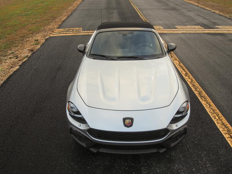 2018 Fiat 124 Spider Abarth - Driven Exterior - image 776605