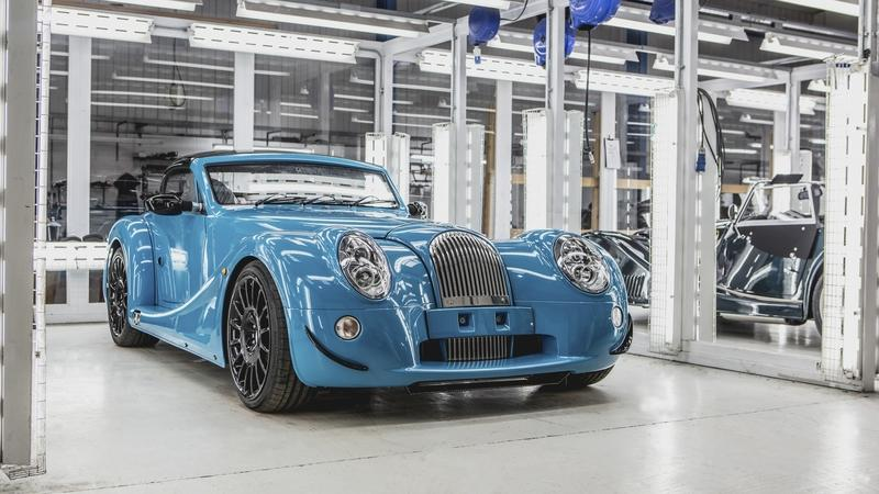First Morgan Aero GT Rolls Off The Production Line