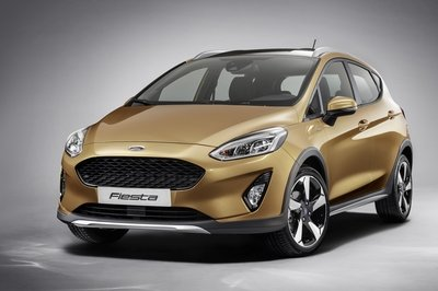 Ford Fiesta Active Top Speed