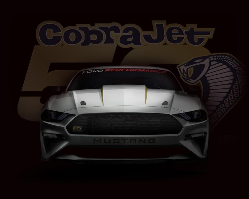 Ford Will Debut a New Mustang Cobra Jet at the Woodward Dream Cruse on Thursday!