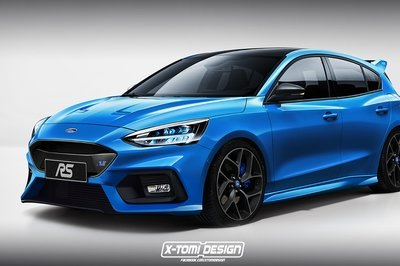 Heres A Preview Of What The Ford Focus St And Focus Rs Might Look Like Top Speed