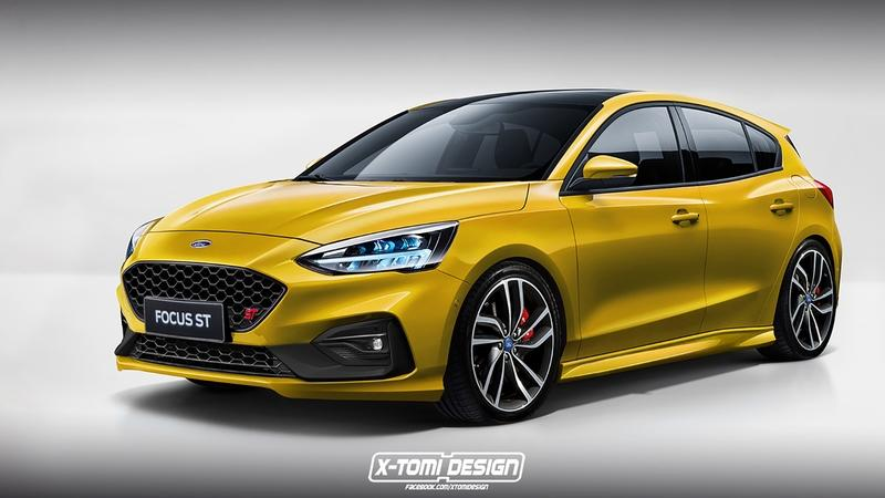 Here's a Preview of What the Ford Focus ST and Focus RS Might Look Like - image 777108