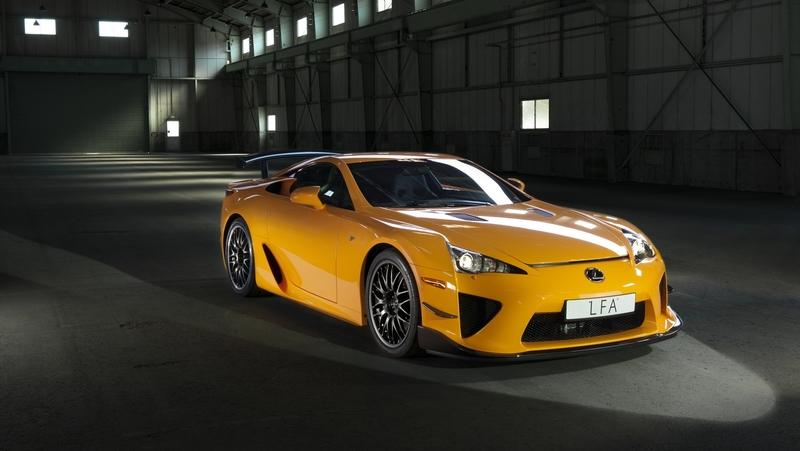 Here's Your Chance To Own One of Only 50 Lexus LFA Nurburgring Editions