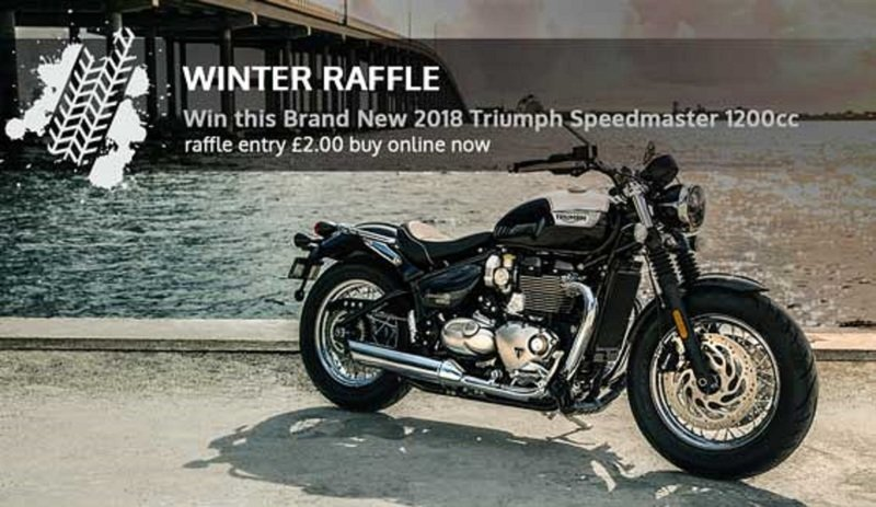 Here is your chance to win a Triumph Bonneville Speedmaster