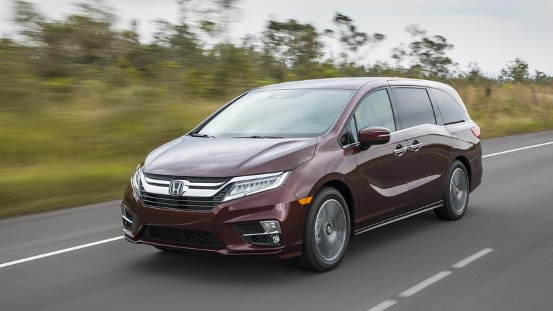 Honda Brings Nothing New to the Odyssey for 2019 Except Higher Pricing