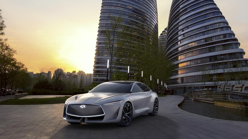 Infiniti Will Take on Tesla, Mercedes with New Platform Based on the Q Inspiration Concept