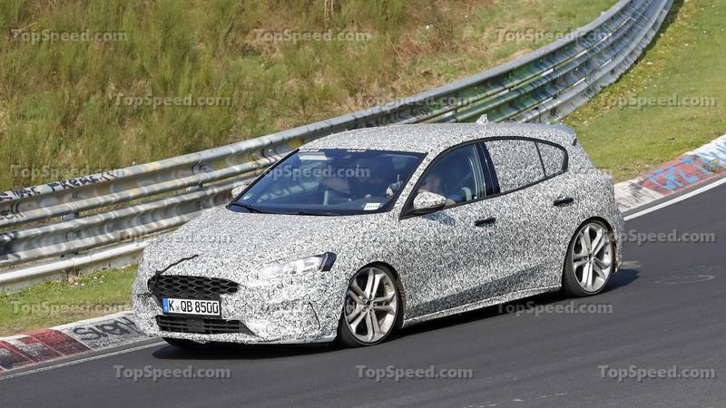 The Ford Focus ST and Focus RS are Coming and One of Them Was Just Caught Testing on the Nurburgring