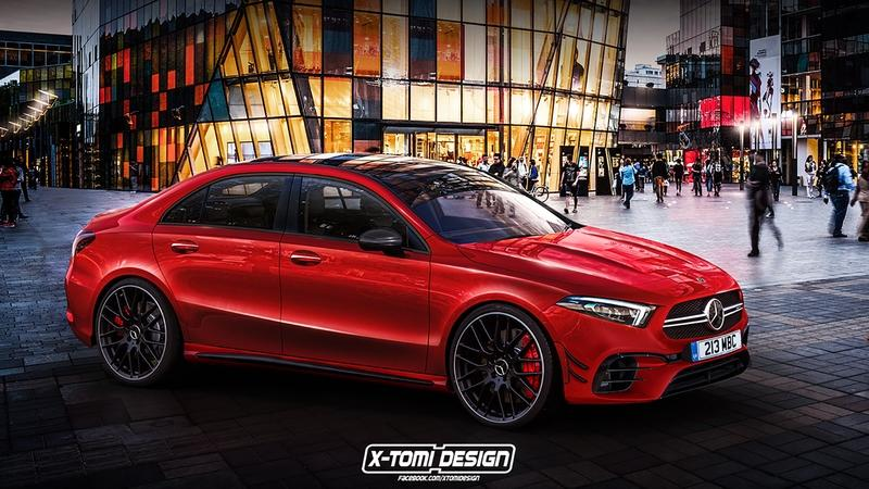 Is This What the Mercedes-AMG A45 Sedan Will Look Like?