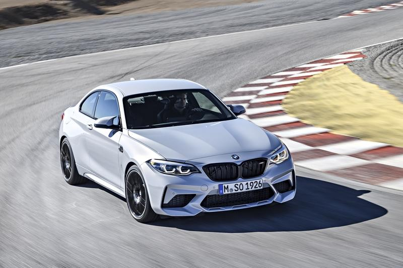 The 2019 BMW M2 Competition Comes at a $4.4 Premium Over the Standard M2