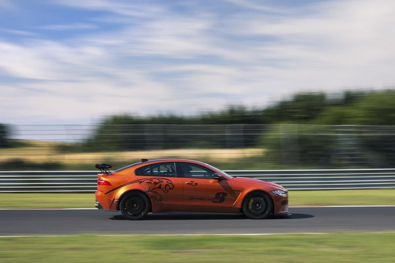 Jaguar Finalizes XE SV Project 8, Prepares To Battle The Porsche GT3 Exterior - image 778764