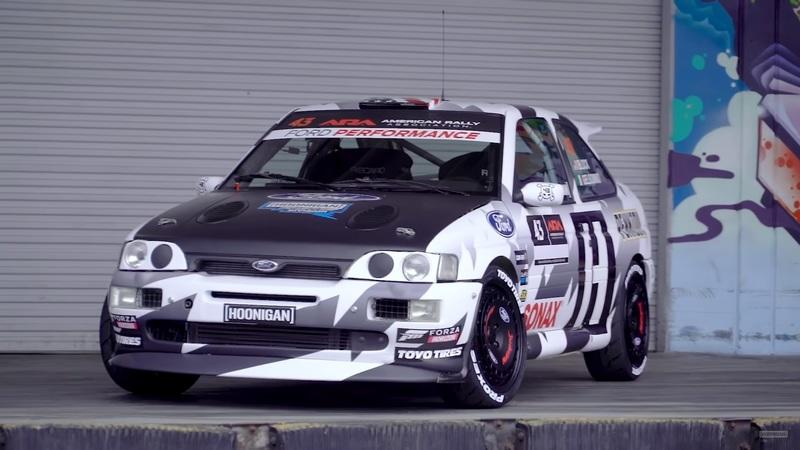 Ken Block and His 1993 Ford Escort Cosworth Are Officially Returning to American Stage Rally