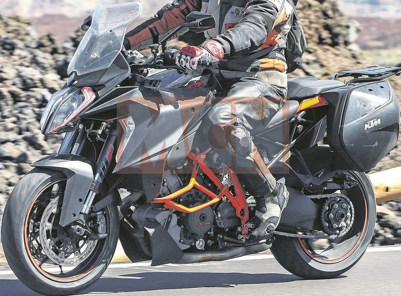 KTM testing the Euro V compliant 1290 SuperDuke GT