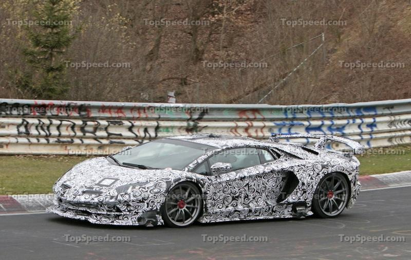 Lamborghini Aventador SVJ Rumored to be New Production 'Ring Record Holder