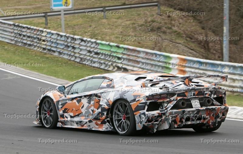 Lamborghini Aventador SV Jota Spotted On The Nürburgring; Is Porsche's Record In Danger?