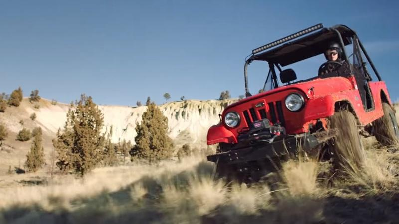 Mahindra Roxor - The tiny jeep-like off roader!
