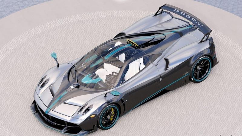 "Meet the ""L'Ultimo"" - The Final Production Model of the Pagani Huayra All Dressed Up in Hamilton-Inspired Livery"