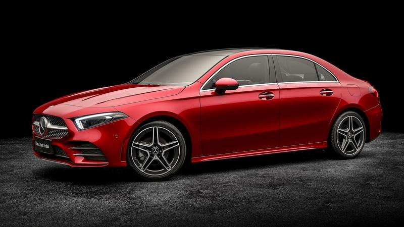 2019 Mercedes Benz A Class L Sedan Top Speed