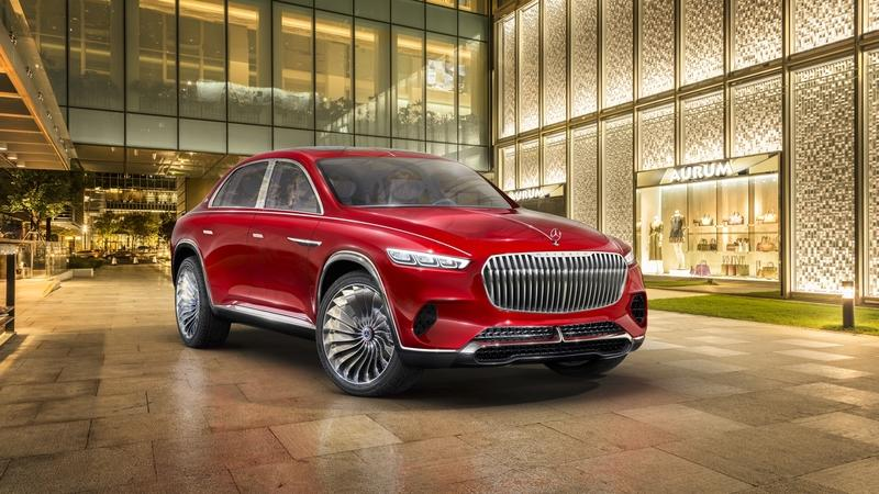 Mercedes-Maybach Ultimate Luxury Comes with a Teapot, Quirky Design