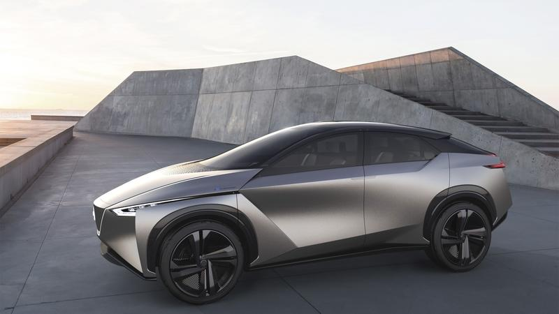 Nissan Will Debut A Secretive Electric Vehicle Next To The Leaf And IMX  KURO Concept In