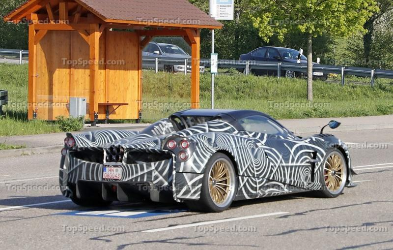The Pagani Huayra BC Roadster was Caught in the Wild; It's Probably Already Sold Out