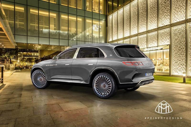 Peisert Design Rendered the Mercedes-Maybach Ultimate Luxury SUV as it was Meant to Be