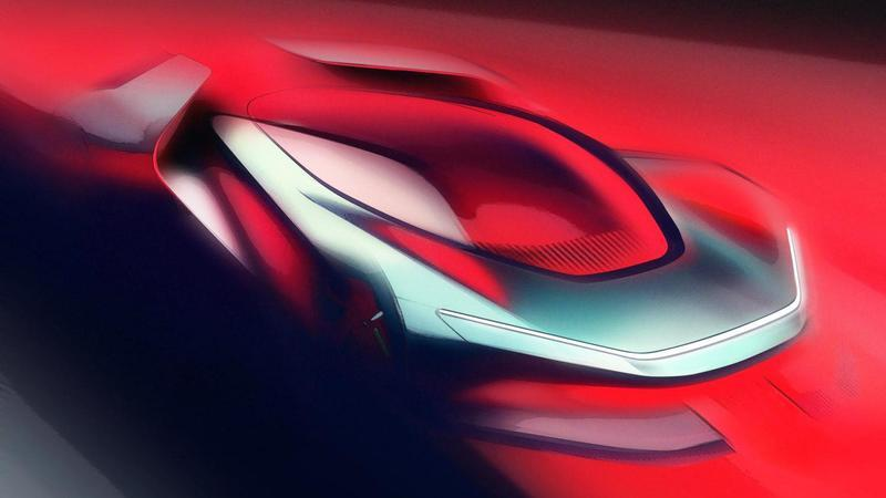 Pininfarina Drops The Load With Teaser of Upcoming 250-MPH PF0 Hypercar