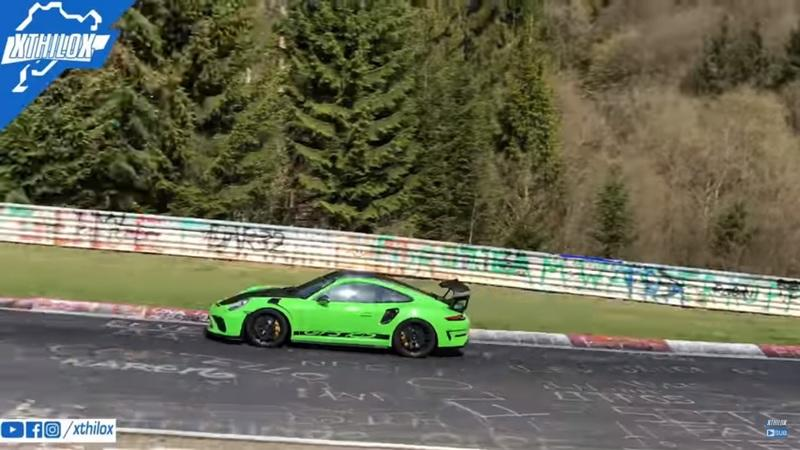 Porsche Just Set a New Personal Best Around the Nurburgring With the 911 GT3 RS
