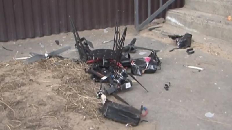 Russian Postal Drone Fails Miserably as it Crashes into a Wall