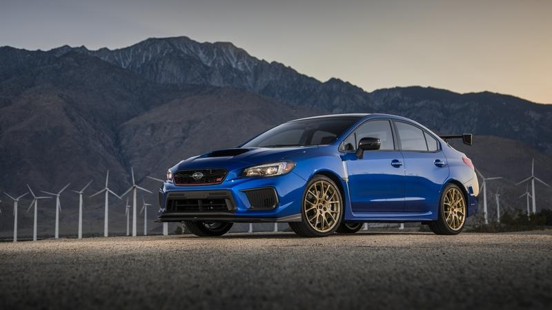 Subaru Celebrates 30 Years of STI