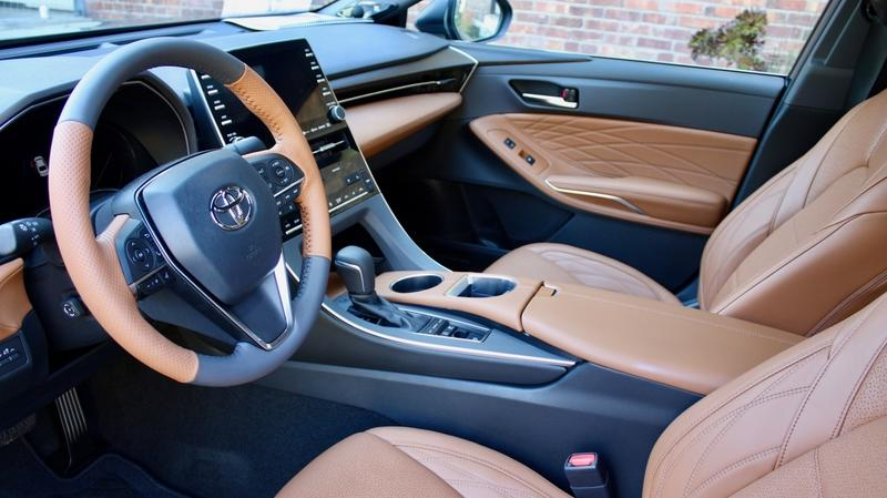 The 2019 Toyota Avalon's Interior Looks Fantastic