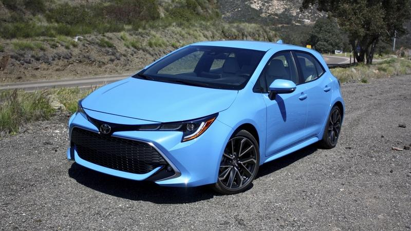 The 2019 Toyota Corolla Hatchback Actually Looks Great With A Huge Grille